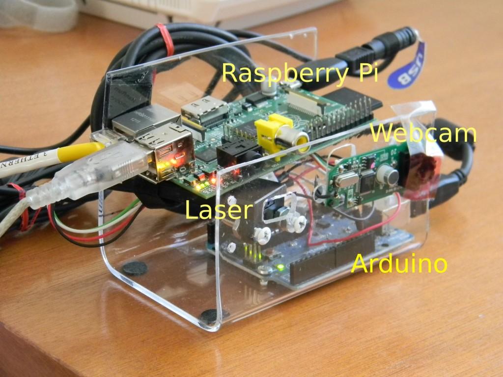 RaspberryPi-Arduino-Webcam-laser