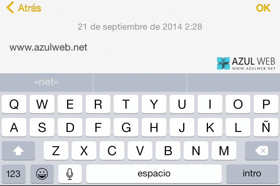 Teclado-iOS8