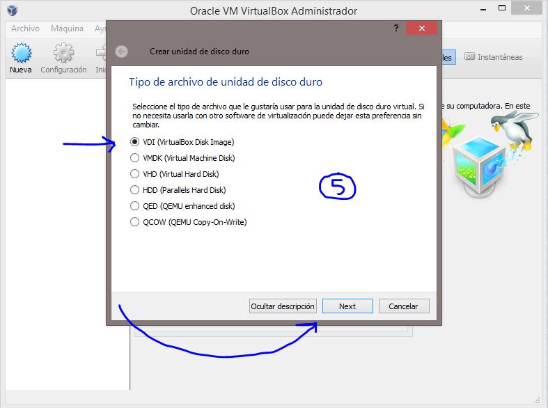 5 Instalar Windows 10 Technical Preview usando VirtualBox