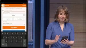 Aplicación hecha en Android e importada a Windows 10.