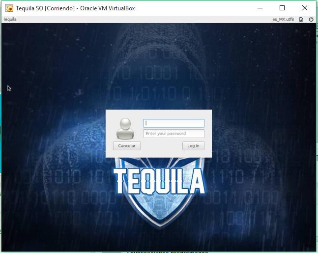 Instalar en una Unidad Virtual Tequila SO 15