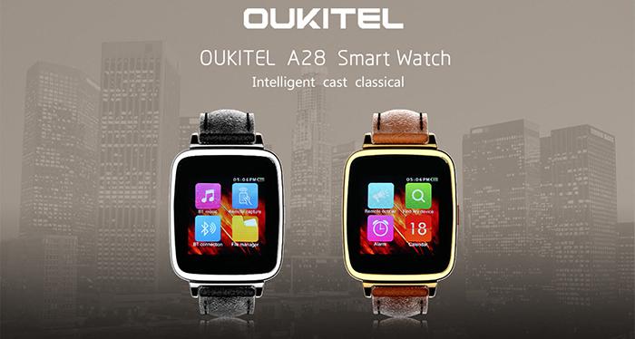 OUKITEL A28, un Smart Watch para iOS y Android.