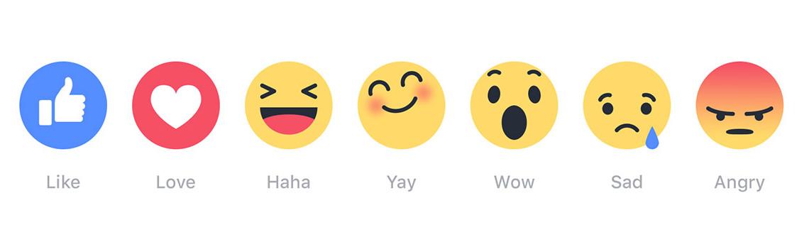 """Conoce lo nuevo de Facebook """"Reactions"""""""