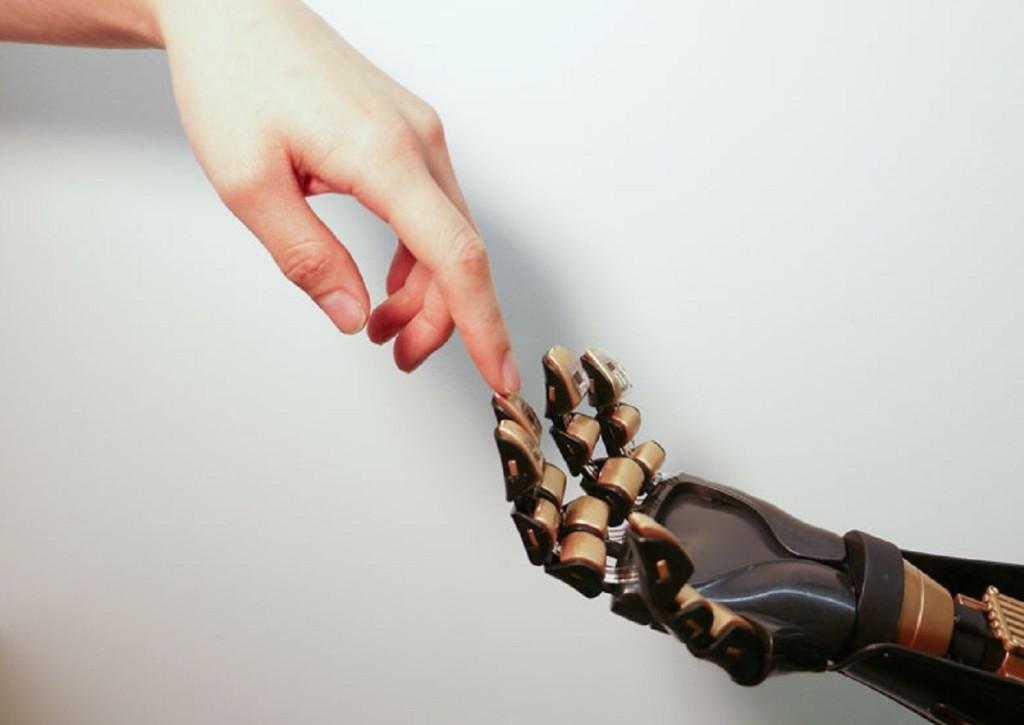 Piel artificial y robótica.