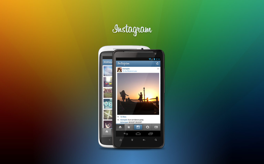 Instagram para Android-