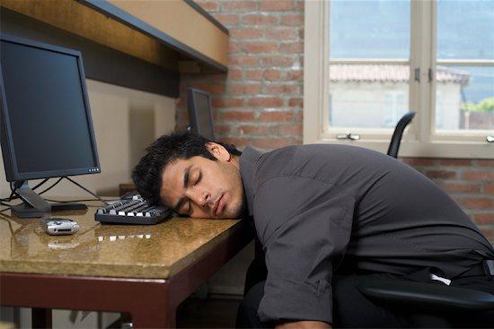 Programador durmiendo