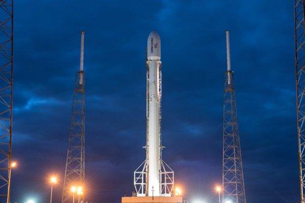 SpaceX Falcon 9 Aterrizaje Plataforma