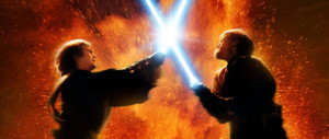 Anakin Skywalker VS Obi-Wan Kenobi Episodio III