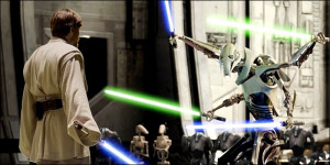 Obi-Wan Kenobi VS General Grievous Episodio III