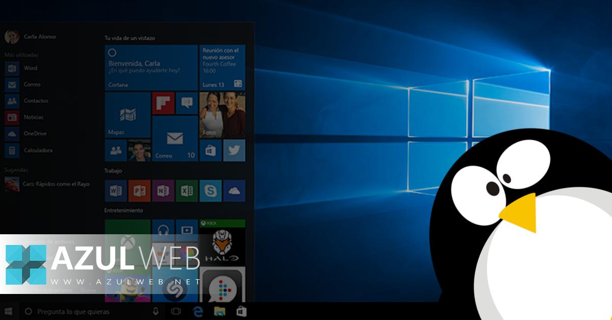 Encuentran archivos de Linux en Windows 10