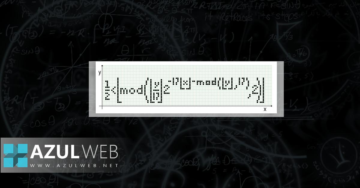 Fórmula autorreferente de Tupper3