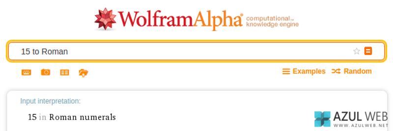Trucos WolframAlpha 1