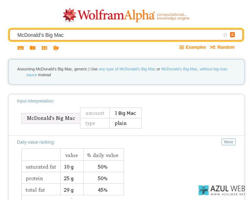 Trucos WolframAlpha 3
