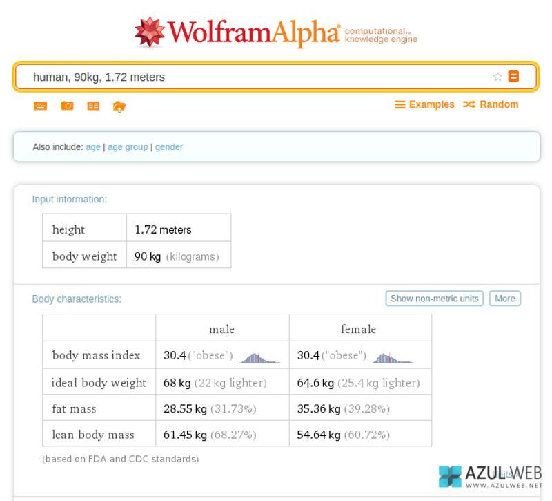 Trucos WolframAlpha 4