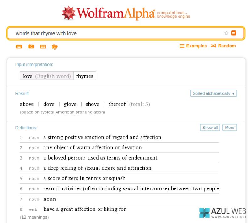 Trucos WolframAlpha 6