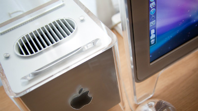 power g4 mac cube