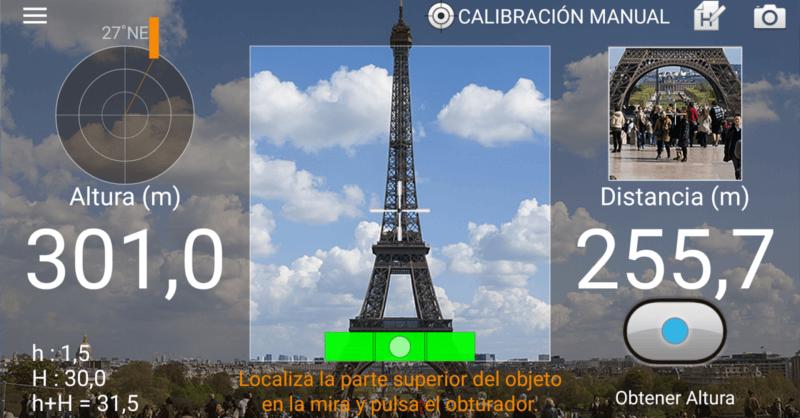 Aplicaciones para medir distancias con el móvil