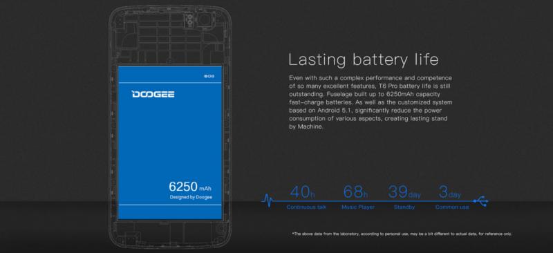 Batería del Doogee T6 Pro