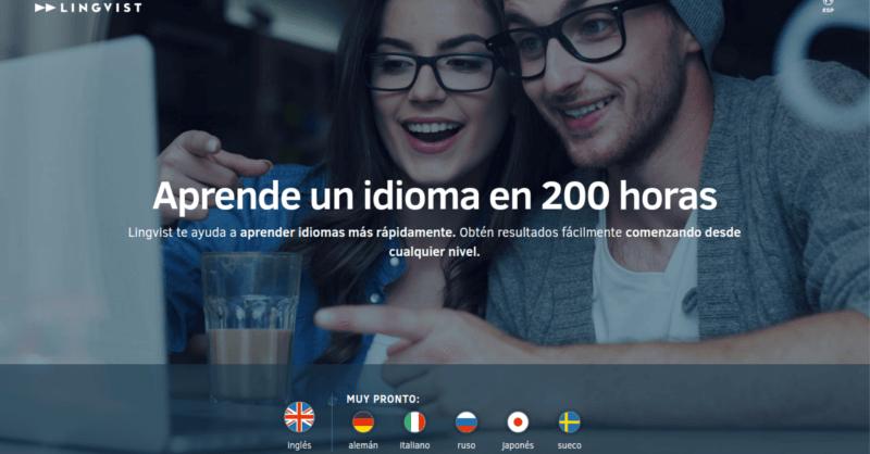Lingvist, aprende ingles en 200 horas