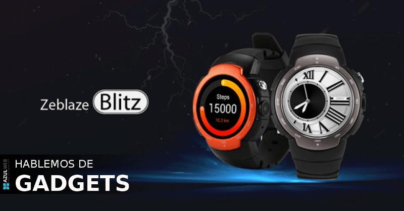 Zeblaze Blitz, uno de los smartwatches mas esperados, ya esta en preventa