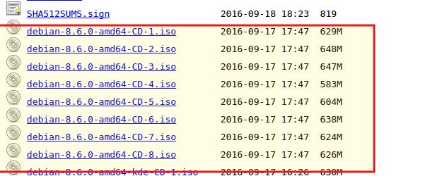 Descarga Debian ISO amd64