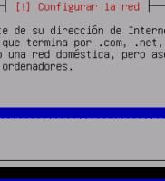 6. Configuración de red – Dominio
