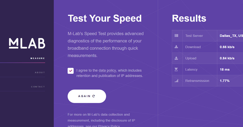 m-labs-speed-test