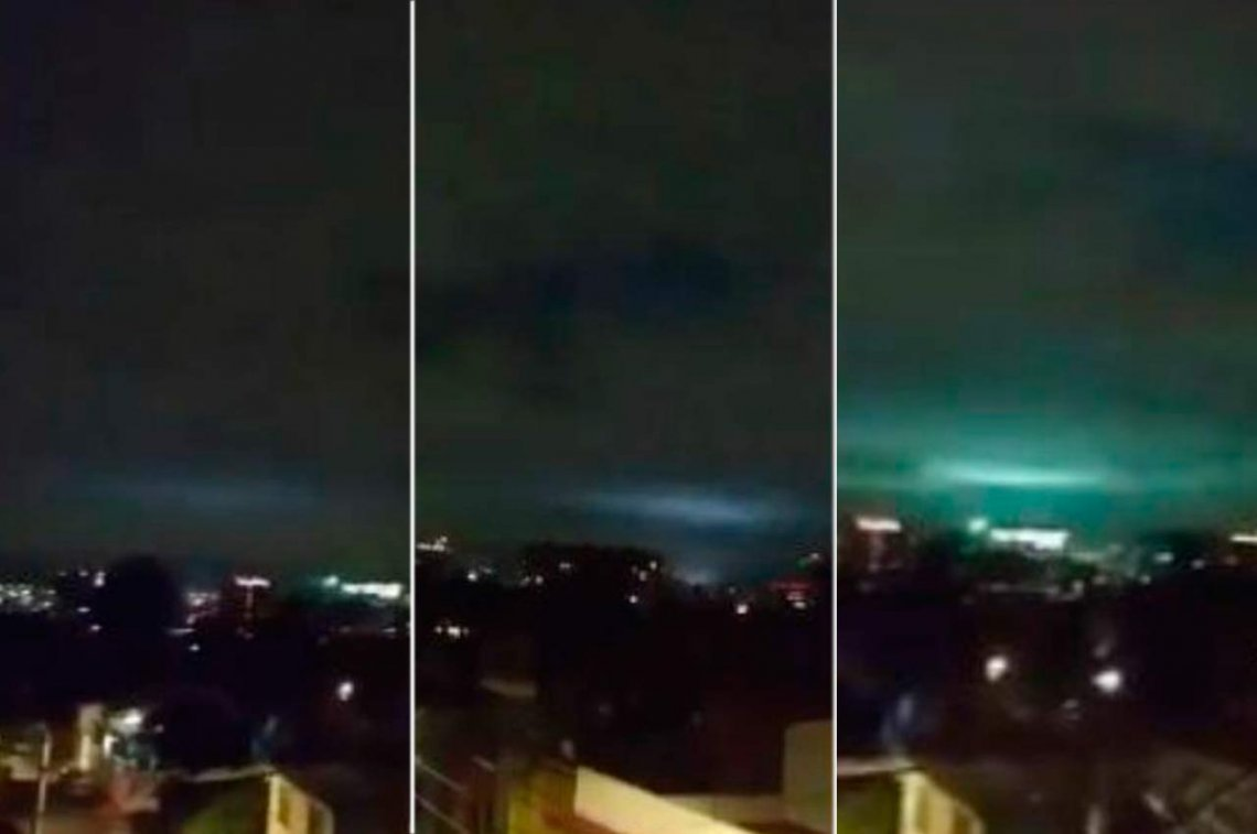 Terremoto México Luces