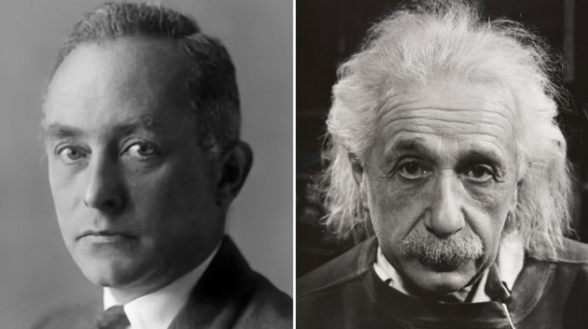 Max Born y Albert Einstein