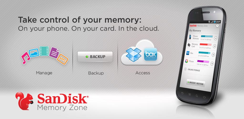 SanDisk Memory Zone