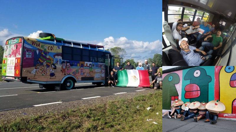 Mexicanos autobus