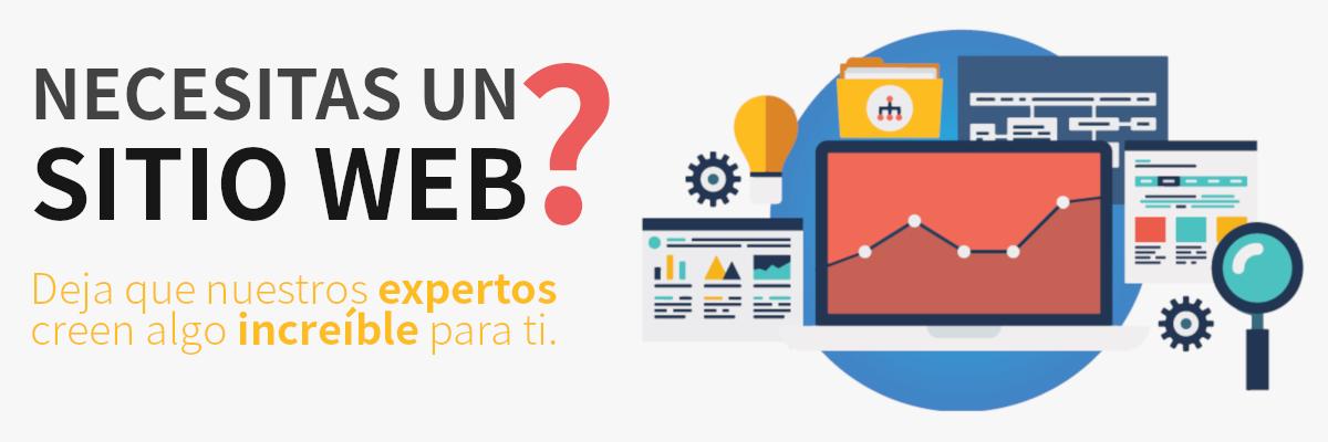 Necesitas un Sitio Web