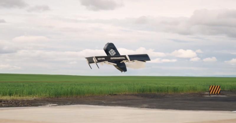 Amazon ha rebelado futurista helicóptero-dron híbrido para entregas